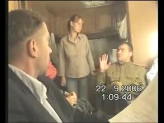 Машков и Пореченков репетируют в гримвагоне