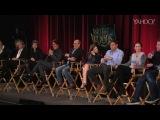 Панель вопросов и ответов создателей фильма «Чем дальше в лес» от Yahoo (22 ноября, 2014)