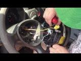 Как снять руль в Fiat Doblo
