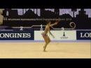 Маргарита Мамун, ЧМ по художественной гимнастике, Турция-2014, булавы