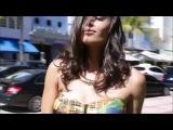 Super bikini campaign - South Beach - Miami - Top Model Jessica