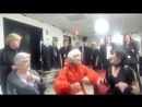 Jerry's Girls! Broadway Legends Carol Channing, Angela Lansbury, and Chita Rivera Rehearse Kennedy Center Performance