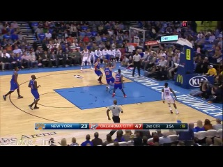 Russell Westbrook Full Highlights 2014.11.28 vs Knicks - Return Game, 32 Pts, 8 Assists, BEAST!