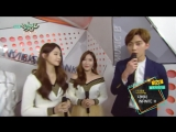 Davichi & INFINITE H - Interview @ Music Bank 150206