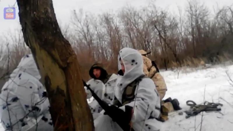 Боевики атакуют ВСУ Militians attack UAF