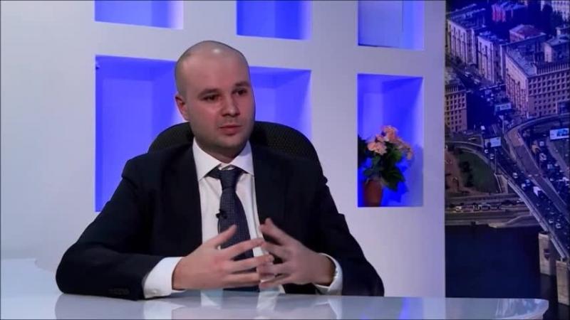 Глава МО Ивановский Владимир Киясов в студии Невского района