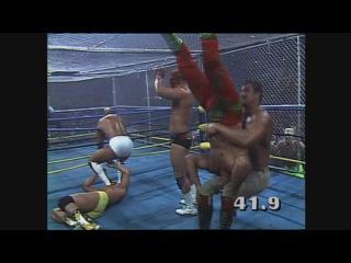 WrestleWar 1992 WarGames WarGames match