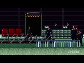 The Matrix - 8 Bit Cinema
