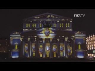 World Cup Emblem Hits the Bolshoi