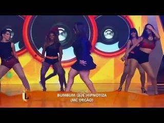 Andressa Soares no programa Legendários - Bumbum que Hipnotiza ao vivo