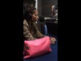 Алёна Пискун в эфире на Радио Теос.