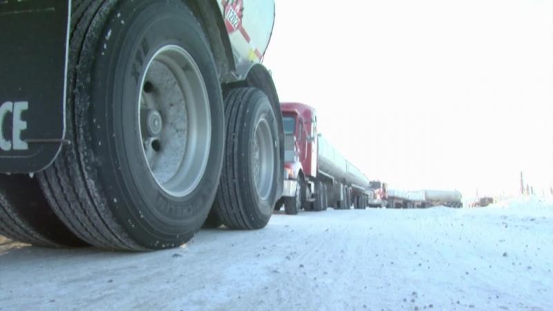 Ледовый путь дальнобойщиков/ Ice Road Truckers 1 Сезон 5 Серия