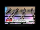 High-tech Япония. Инсталляция из 100 танцующих роботов Robi. Japan.100 dancing Robi installation. 31.01.2015.