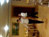 Астана-Камилла и Сабина танцоры. Кафе-Тогжан