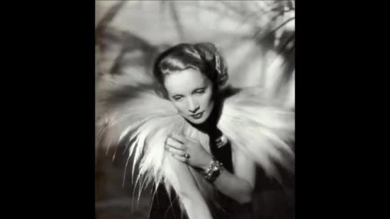 Marlene Dietrich, La Vie En Rose.