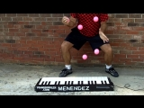 Worlds Fastest Piano Juggler part