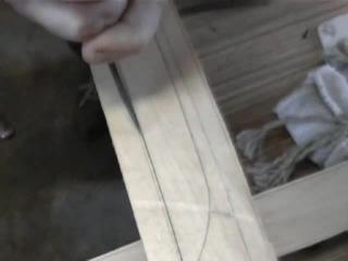 Making katana koshirae, component saja 1 - Изготовление катаны косираэ, компонент сайя ч.1