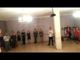Новогодние танцы с ДМ и Снегуркой в Tango sin reglas