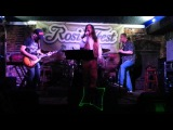 Plumbum dreams on stage at Rosie o'gradys 31/10/2014 Achilles last stand