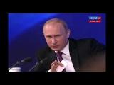 Пресс-конференция Путина. Вопрос от Ксении Собчак.( Про Кадырова.)