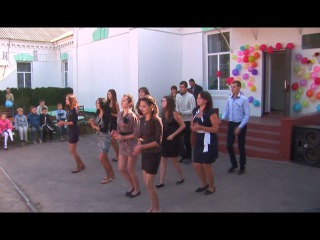 Флешмоб на день учителя)) Градижская школа №1