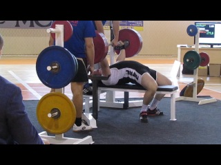 Беляков Костя жим 177.5 кг