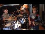 Igor Falecki(12y) & Kamil Pyrek(11y) - Red Baron (cover Billy Cobham)