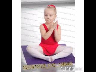 Моя маленькая балерина 😍😍😍