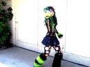 танец кибер гота