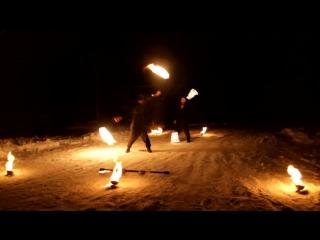 Огненно-пиротехническое шоу от Творческого коллектива