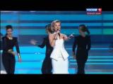Полина Гагарина и курсанты ВИ МВД - Шагай (Концерт ко Дню Полиции 2014)