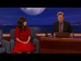 Conan - 2014.09.22 - Zooey Deschanel, Breckin Meyer, (Beck)
