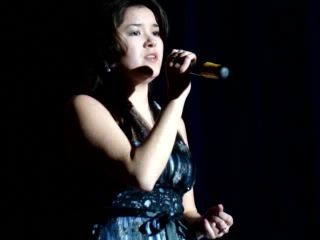 Гульназ Киндяшева, 2012 год, татарский концерт