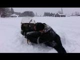 Покатухи. По глубокому снегу на Буранах, длиннобазном и коротыше