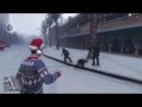 Игра в снежки убивает ( 6 сек )