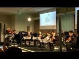 "Aniello Desiderio's Quartetto Furioso & Frauchi Guitar Quartet - A. Piazzolla ""Fuga y Misterio"""