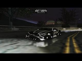Nissan Skyline GT-R LVPD @ NFS Underground 2 (Video by Sam Torrent)