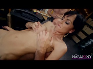 HARMONY VISION Milf Anal Threesome at the office