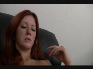 Busty Redhead Soccer Mom Goes For An Audition And Gets