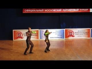 В-класс юниоры и юниорки Жукова Александра-Костричкин Михаил 26.10.2014