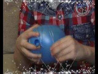Новогодняя мастерская на ПТВ (N7) - елочный воздушный шар