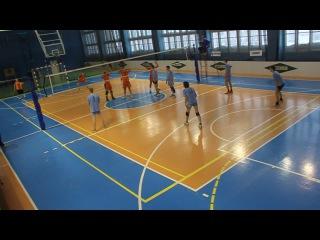 Волейбол.Новогодний кубок 2015. Мужчины. Олимп-Ветераны.ч.5