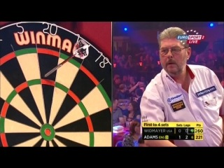Martin Adams vs Jim Widmayer (BDO World Darts Championship 2015 / Round 2)