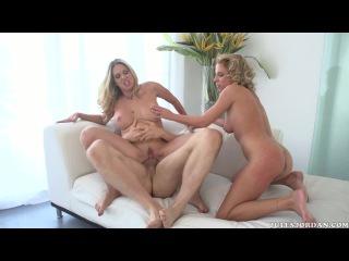 Angela Attison, Aria Austin, Cougars, Kittens Cock 2 ( Chris Streams, Jules