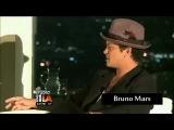 Бруно и Куинси Джонс на Spotify 2012 год.