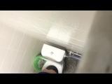 Фитоняшка в туалете