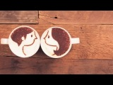 A touching story about the lives of two cups of coffee. Its so sweet =)
