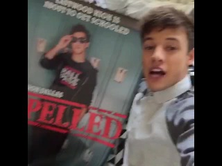 Go on Twitter and tweet me 5DaysForExpelledMovie I'm doing a HUGE FOLLOWING SPREE ! Expelled Premieres December 10th