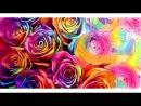 Скоростное Рисование - Разноцветные Розы Даня Оладушка (Живое Граффити)