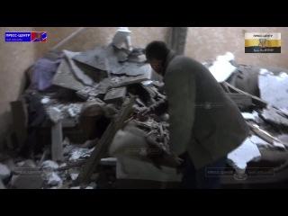 241114 Украинские каратели уничтожают мирное насление и их дома в городе Первомайск